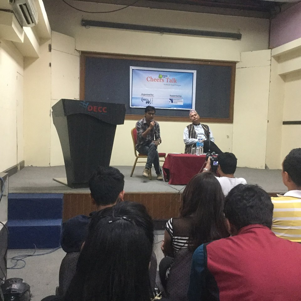 Cheers talk with Subodh Raj Pyakurel