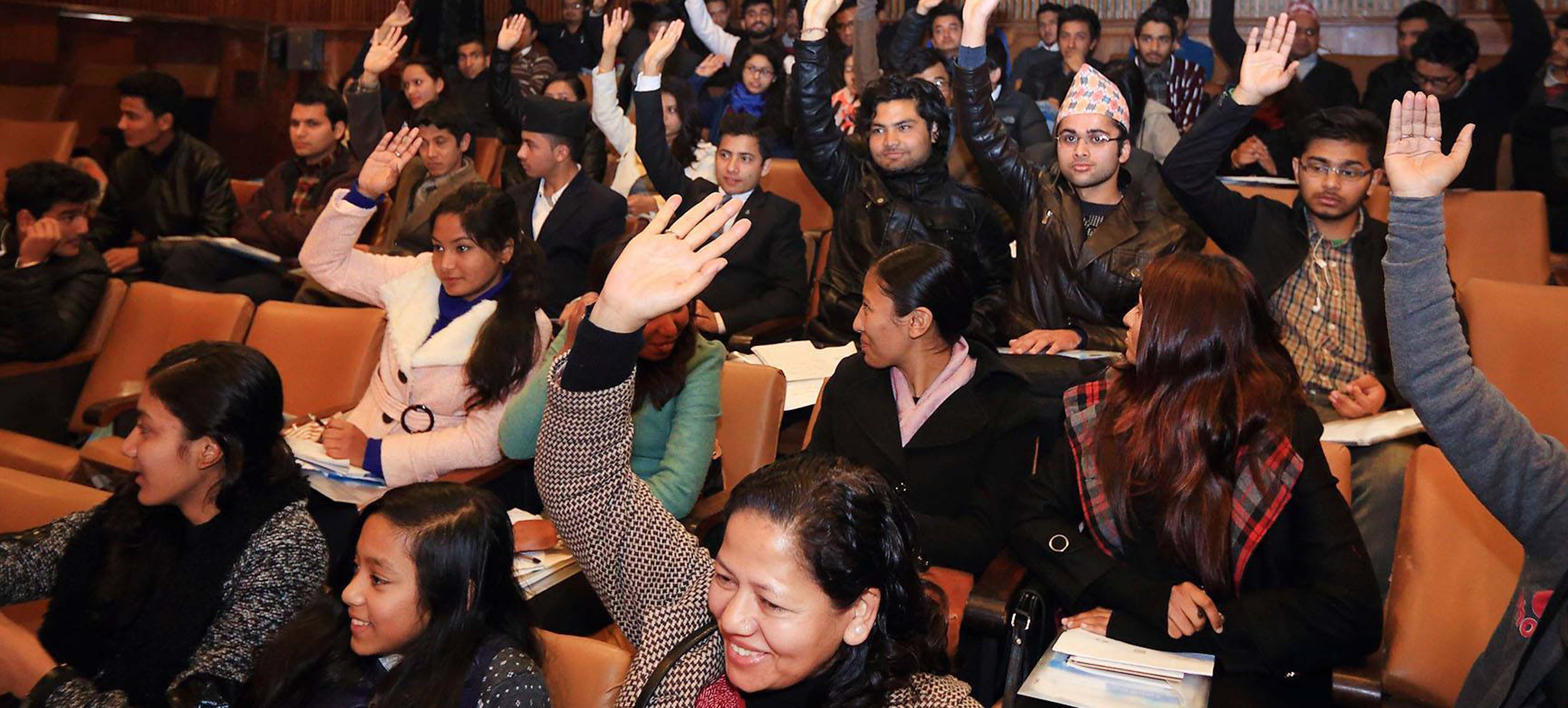 Nepal's First Youth Parliament